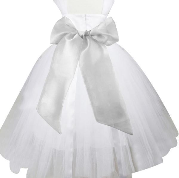 Chiffon Sash for Formal Dress Large Size