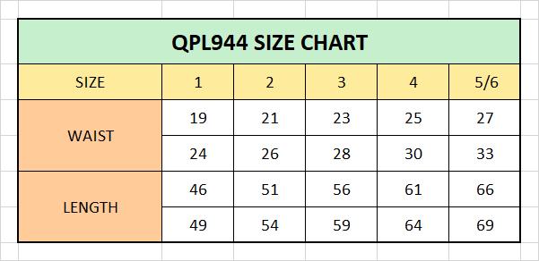 Kids Chino Skinny Trousers Navy/Khaki (QPL944 )